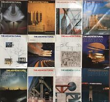 Architectural Review 1989.  All 12 issues Jan-Dec.