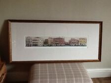 """Large Laura Ashley Palazzi Framed Picture, Approx 43 1/2"""" X 20"""", Good Condition,"""