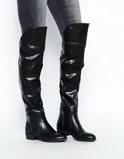 Report Signature Gema Over The Knee Boots, BLACK Size 9