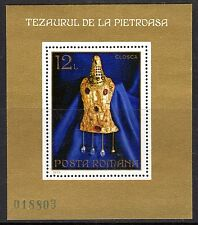 Romania - 1973 Gold treasure - Mi. Bl. 107 MNH