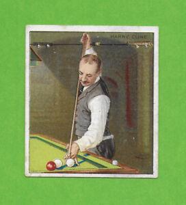 1911 T218 Harry Cline billiards pool world champ SUPER SHARP!