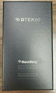 Blackberry DTEK60 32GB (Black) Unlocked Smartphone BBA100-1 -EARTH SILVER