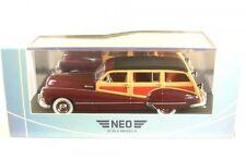 Buick Roadmaster 79 Estate Wagon (rosso scuro/legno ottica) 1947