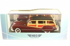 Buick Roadmaster 79 Estate Wagon (dark red/wood optics) 1947