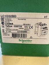 LC1D32BD   24VDC  SCHNIDER CONTACTOR  US STOCK