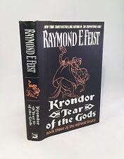 Krondor: Tear of the Gods-Raymond E. Feist-SIGNED!!-First Edition/1st Printing!!