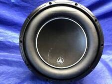 "JL AUDIO 10W6V3-D4, 10"" 600W DUAL VOICE COIL CAR BASS SUBWOOFER, Pre-Owned"