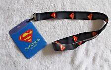 SUPERMAN devuelve ID Card Badge/paso titular + cordón 2