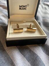 Mont Blanc Rose Gold/Carbon Cufflinks *Beautiful* - Read Description
