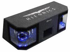 "Hifonics Mercury Kompakt Doppel Dual Auto Subwoofer MR8Dual 2 x 20 cm / 8"" LED"