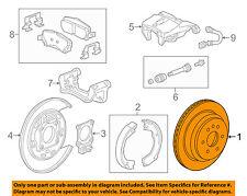 GM OEM Rear Brake-Rotor 94778644
