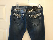 Womens Miss Me JP6067B Boot Cut Jeans Size 26 (Measured 29x33)