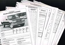 1996 Ford RANGER PickUp Truck <confidential> DEALER Only Preview{Brochure Info}