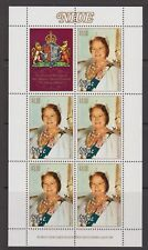 Queen Mother 80th Birthday 1980 MNH Stamp Sheet Niue $1.10