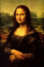 Reimpresión A4 maestros antiguos (V4) Mona Lisa de Leonardo da Vinci