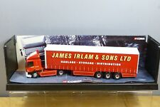 "CORGI MODERN HEAVY MODEL No.75401 DAF 85 Series  CURTAINSIDE ""JAMES IRLAM""   MIB"
