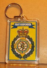 South Western Ambulance Service First Responder key ring..