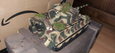 RC Panzer Tiger Torro 1:16 Sound, Rauch, BB Schuss, Metallunterwanne, Holzkiste