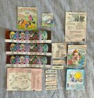 VINTAGE MLP MY LITTLE PONY GI Inserts Newsletter Name Tags And More 1980s For Sale