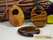 Markenlose Modeschmuck-Halsketten & -Anhänger aus Stein mit Tigerauge