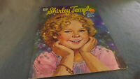 Vintage Shirley Temple Paper Doll Book By Whitman 1976 Unused/Uncut