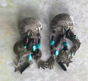 Terrific Southwest Style Earrings