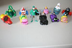 Vintage McDonald Toys Lot Of 12 Batman DC Comics Marvel Super Heroes 1993-1996