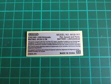 Sticker de remplacement pour Game Boy Pocket
