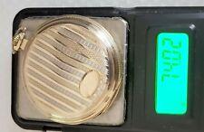 50mm Runs 74 grams #36-11 Antique Pocket Watch 14K Solid Gold