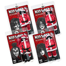 KISS 8 Inch Limited Edition Action Figure Christmas Series: Set of all 4