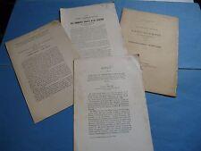 GUSTAVE CHAUVET TOMBEAUX CHARENTE POITOU 1896- 1917 ENVOI Signé à ROCHEBRUNE