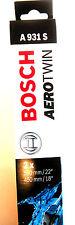 "BOSCH Aero Twin wiper blade 3397118931 A931S Pair (550mm / 22"" 450 mm / 18"")"