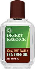 100% Pure Australian Tea Tree Oil, Desert Essence, 0.5 oz