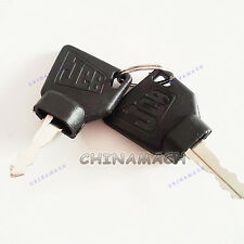 3 pcs Ignition Keys 70145501 for JCB Parts 3CX Excavator