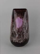Große Keramik-Vase mit farbiger Laufglasur - Vallauris, 1950er Jahre