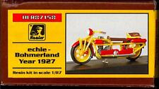 "Hauler Models 1/87 German 1927 Bohmerland ""Cechie"" Motorcycle Resin Kit"