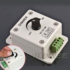 12V 8A Sensor Infrarrojo Pasivo Tira de Luz LED Interruptor Regulador Controlador de brillo Uso Casero