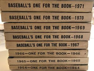 1964-1971 Set of 8 One For The Book MICKEY MANTLE Hank AARON Lou BROCK Bunning