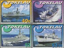 Tokelau 330-333 (complete issue) unmounted mint / never hinged 2002 Vessels the