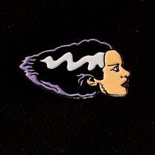 "1"" Bride of Frankenstein monster horror halloween badge pinback lapel pin"