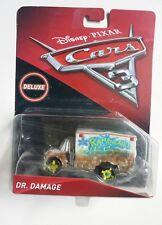 NOVITA' CARS 3 Disney pixar cars DR. DAMAGE RARO nuovo mattel maclama