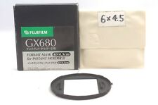 @ Ship in 24 Hrs @ Rare @ Fujifilm GX680 6x4.5 Format Mask for Instant Holder II