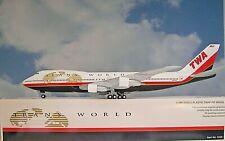 Hogan Wings 1:200  Boeing 747-100  TWA  Trans World N93108  LI0229GR