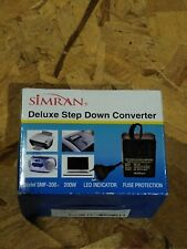 Simran SMF-200 Watt Deluxe Step Down Voltage Converter SMF200