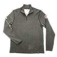 NWT Neve Swiss Racer 1/4 Zip Merino Wool Blend Mens Medium Base Layer Shirt