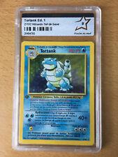 Pokemon Set De Base Edition 1 Tortank Holo 2/102 PCA 9 Blastoise French