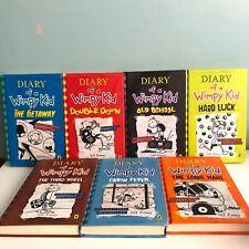 Diary Of A Wimpy Kid 7 Hardback Books Bundle Jeff Kinney Puffin