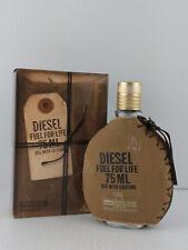 FUEL FOR LIFE By DIESEL Men EDT 2.5 OZ 75 ML SPRAY NEW IN BOX - TST STICKER