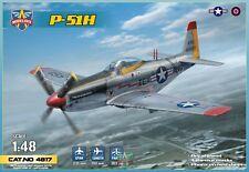 NORTH AMERICAN MUSTANG P-51H (IN STOCK) MODELSVIT 1/48 Plastic Kit