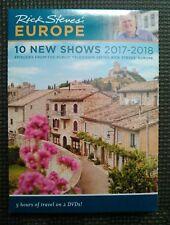 Rick Steves Europe: 10 New Shows 2017-2018 - Full 2 DVD Box Set - BRAND NEW!